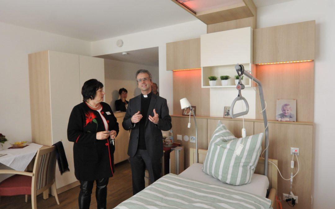 St. Vinzenz-Hospiz vollendet Neubau und öffnet seine Türen für die Öffentlichkeit