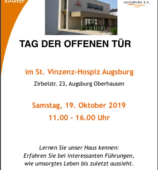 19. Oktober 2019: Tag der offenen Tür