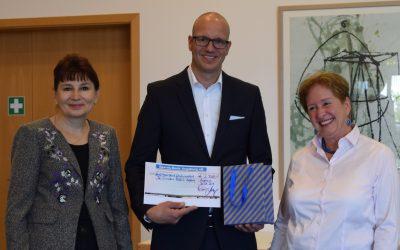 Sparda Bank spendet 2.500 € für unser St. Vinzenz-Hospiz