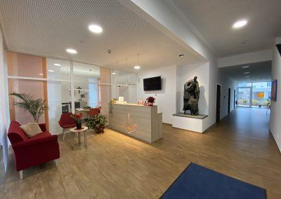der Eingangsbereich, Foto Brigitte Eder