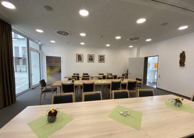 ein teilbarer Raum für Veranstaltungen, Foto Brigitte Eder