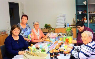 Unerschöpflich kreativ – die Kreativgruppe des St. Vinzenz-Hospiz