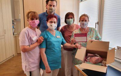 """""""Maskenmacher""""-Aktion von Hitradio RT1 bringt Masken ins Hospiz"""
