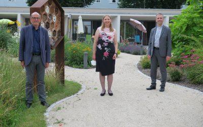 Gelacht werden darf auch hier: Sommerfest im St. Vinzenz-Hospiz Augsburg e.V.