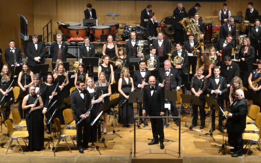 Jahreskonzert der Gersthofer Blasharmoniker am 13.11.21